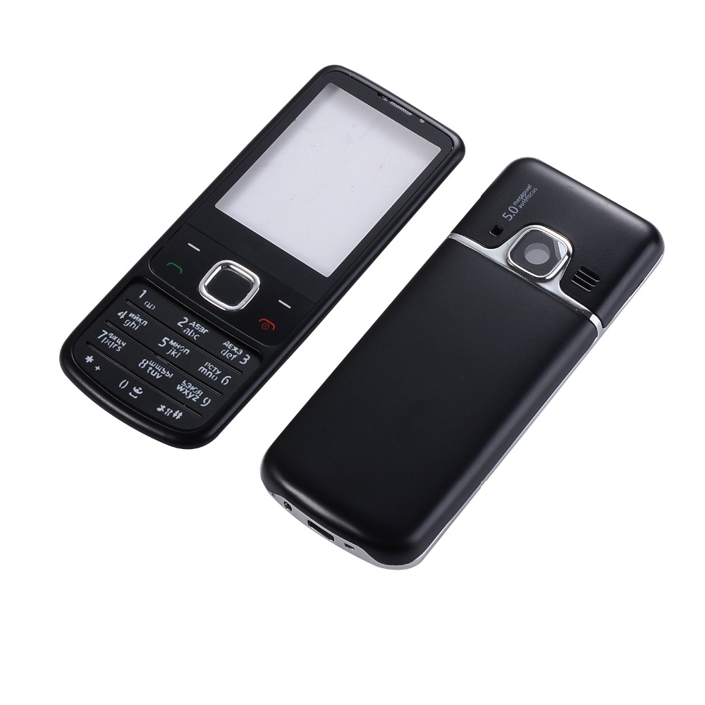 Metal <font><b>Housing</b></font> Case For <font><b>Nokia</b></font> <font><b>6700</b></font> 6700C Front+Middle Frame+Back cover+Russian or English Keypad+Tools image