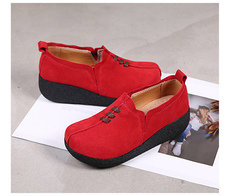 LL 3022-2019 Spring Autumn Women Wedge Shoes-2