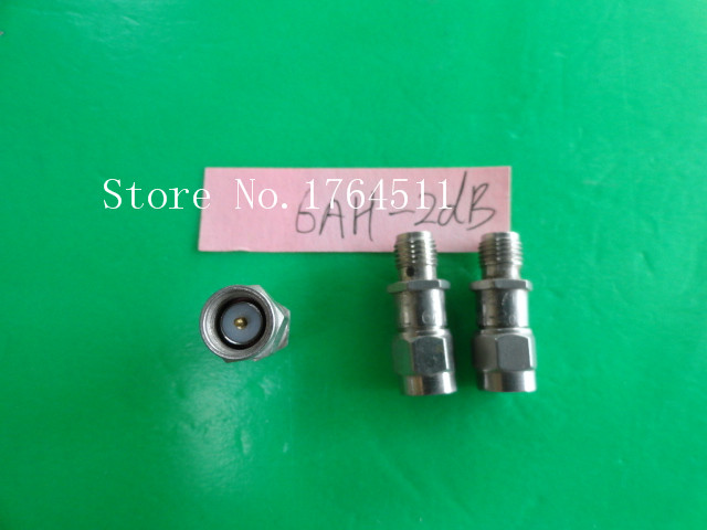 [BELLA] INMET 6AH-2dB DC-6GHz Att:2dB P:2W SMA Coaxial Fixed Attenuator  --3PCS/LOT