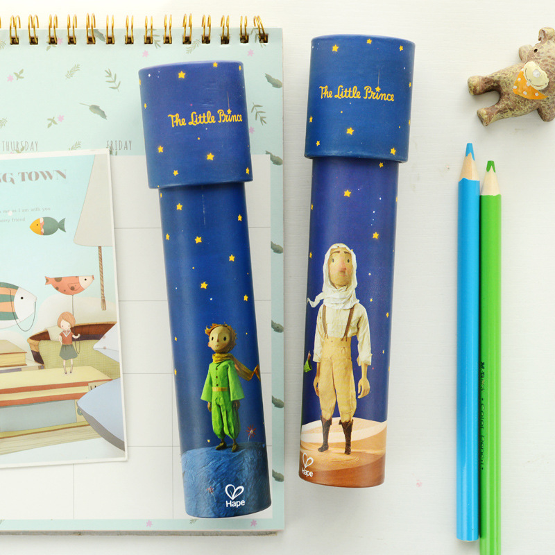 Prince Kaleidoscope Imaginative Fancy Rotate Periscope Educational Toys For Children Magic Colorful Sensory Educational Gift