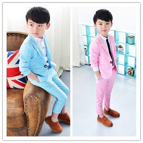 Kinderkleding Kostuum.Kinderkleding Kostuum Pak Jas Broek 2 Stks Sets Gentleman Snoep