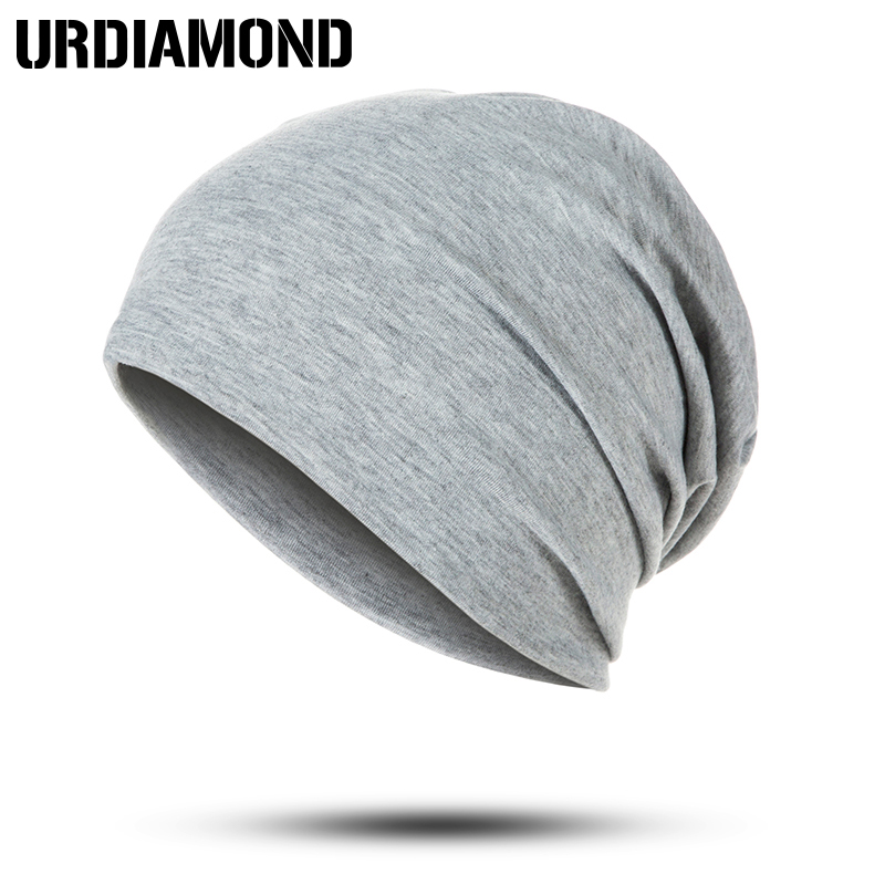 URDIAMOND 2019 Winter Hat Unisex For Woman Man Hip Hop Caps Cotton Skullies Beanies