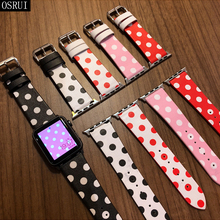 Strap for Apple Watch Band 42mm 38mm correa iwatch band 44mm 40mm 4 3 2 leather bracelet for pulseira apple watch 4 accessories strap for apple watch band 4 44mm 40mm correa iwatch 42mm 38mm 3 2 1 leather double tour bracelet apple watch 4 accessories