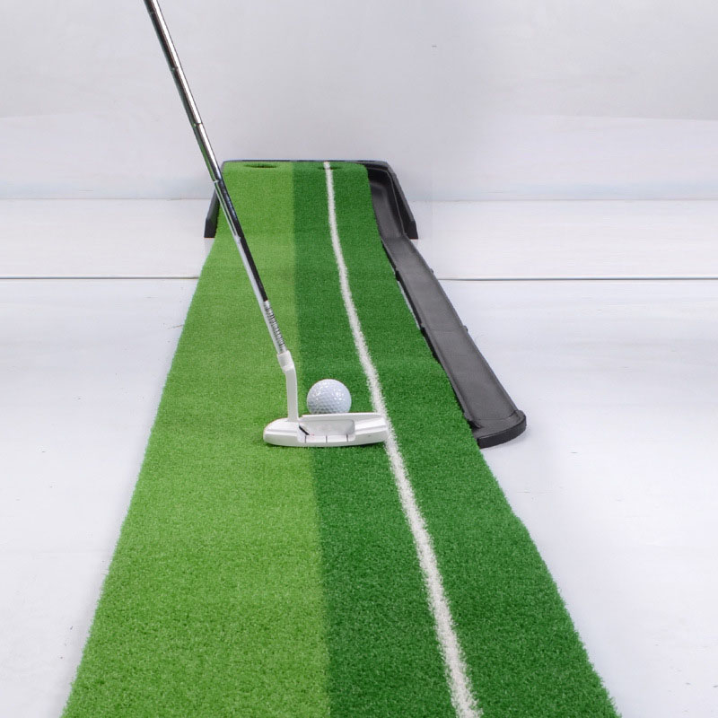 Good Quality Golf Putting Green Trainer Professional Indoor Practice Set Golf Putter Swing Mat Golf Training Aids Accessories crestgolf indoor golf mats putting green golf practice green golf training aids with artificial turf and blanket for choice