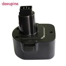 Dawupine DC9071 NI-CD/MH Батарея Пластик чехол (без Батарея ячейки) для Dewalt 12 В DE9037 DE9071 DW9072 DE9075 DE9501 DW9071 DW9072