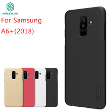 For Samsung Galaxy A6+2018 Case NILLKIN Pc Hard A6+ 2018 Fitted Cases Super Frosted Shield