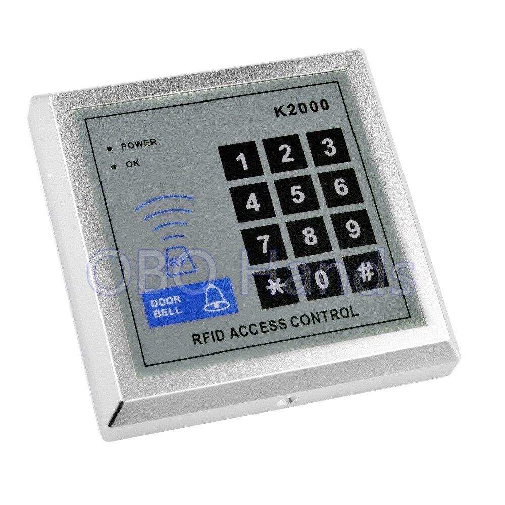 Porte de Contrôle D'accès Clavier RFID ID Cartes Lecteur De Proximité avec 10 Porte-clés pour les Bureaux À Domicile Système de Sécurité
