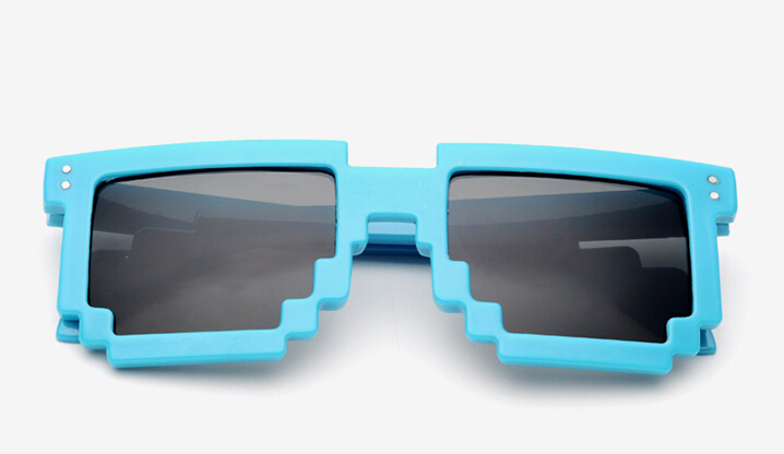 575a6405b402f New Minecraft Sunglasses For Fashion Women Men Sun glasses Block Pixel  Sunglass Computer Nerd Geek 5COLORS free ship-in Sunglasses from Apparel  Accessories ...