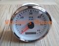 1pc Brand New Boat Auto Motor Home Universal Tachometer 6000RPM Revolution Meter 12/24V For Sale