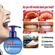 Toothpaste Stain-Removal for Teeth-Baking Soda Refreshing Press-Type Fruit Gums Whitening