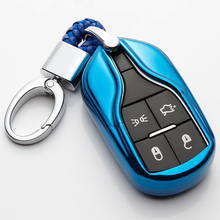 купить KUKAKEY TPU Car Key Case Fob Cover Remote Shell Frame For Maserati Ghibli Levante Quattroporte Smart Keys дешево