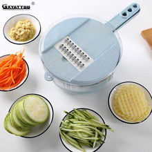 8 In 1 Vegetable Slicer Potato Peeler Carrot Onion Grater with Egg Strainer Wheat Straw Cutter Kitchen Accessories HOT