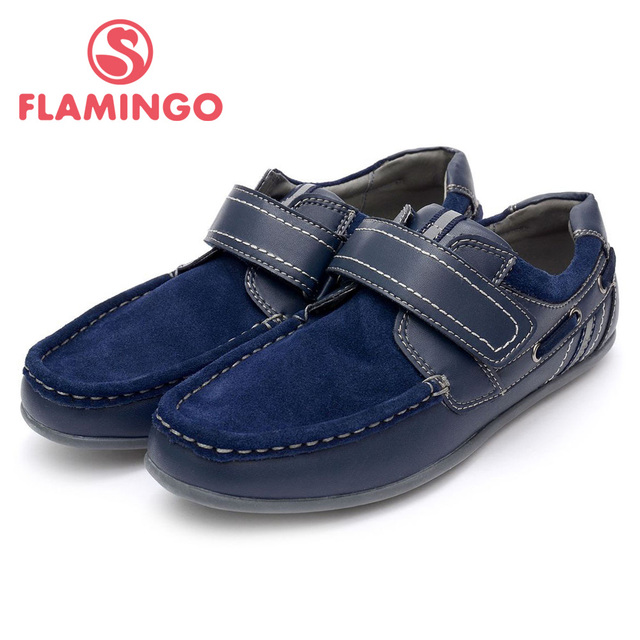 FLAMINGO 100% Russian Famous Brand 2016 New Arrival Spring & Autumn children Fashion High Quality Shoes 52-XT113