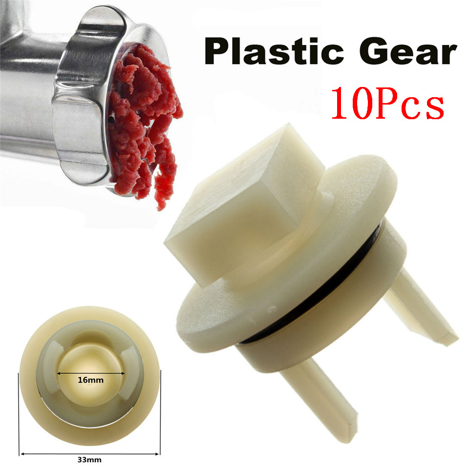 10Pcs Meat Grinder Parts Plastic Gear Household Electric Meat Chopper Element Plastic Gear Sleeve 418076 Fit For Bosch For BEKO