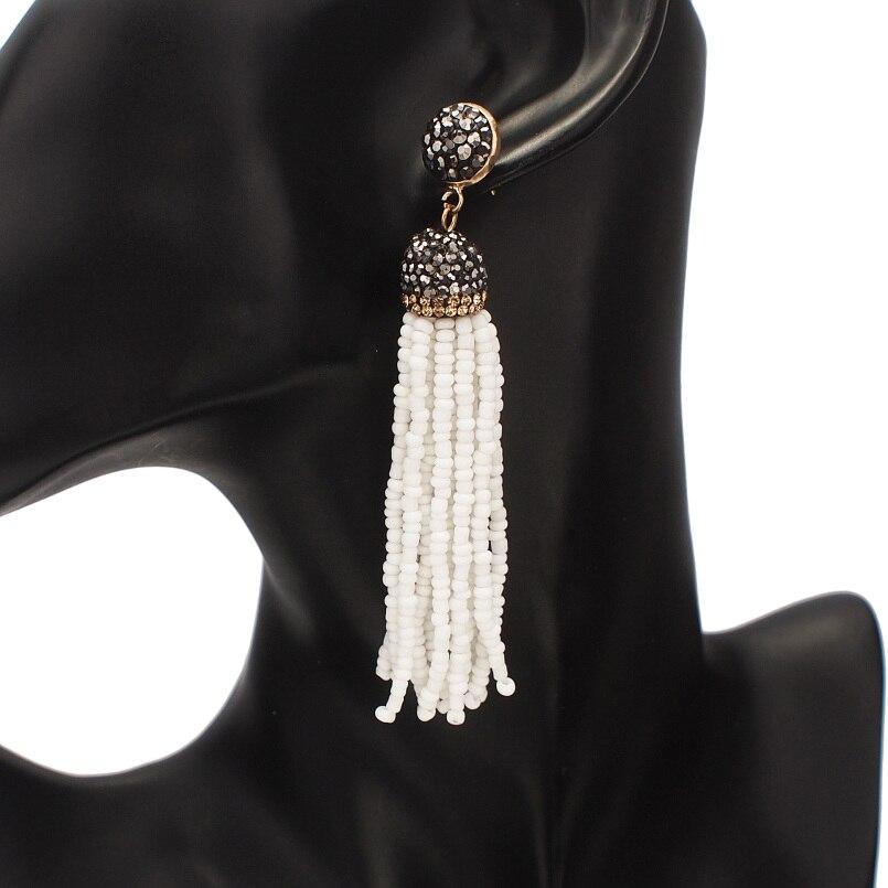 White Earrings