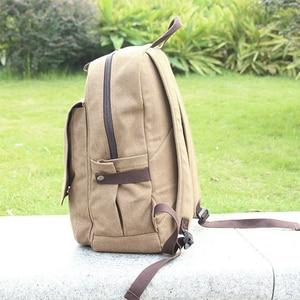 Image 4 - Backpacks For Men Mochilas Para Hombre Attack on Titan Backpack School Bag For Mens bagpack plecak Canvas Laptop back pack APB22