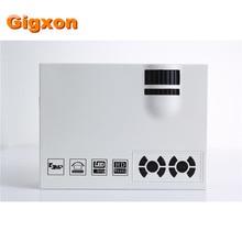 Gigxon-G40 + Más Nuevo Original Del Proyector Mini Pico Proyector Portátil 3D Proyector de Cine En Casa HDMI Proyector Multimedia de Vídeo