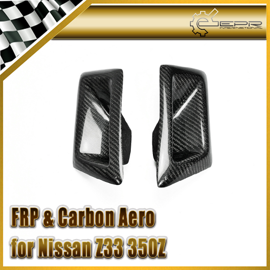 EPR Car Styling For Nissan Z33 350Z Nismo Carbon Fiber Front Bumper Duct Air Intake