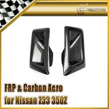 ЭПР Стайлинга Автомобилей Для Nissan Z33 350Z Nismo Углеродного Волокна Переднего Бампера Воздуховод Потребление