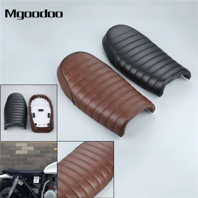US $39 59 45% OFF|Motorcycle Cafe Racer Seat with Mounting Kits Fit For  Honda CB CL GN CB200 CB350 CB400 CB500 CB550 CB750 Flat Seat on  Aliexpress com
