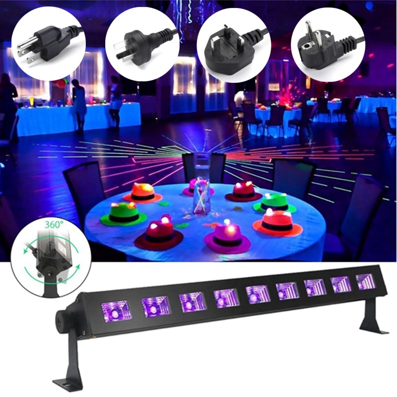 New Purple LED Stage Lighting Effect UV Lamp Light UK/EU/US/AU Plug For Disco KTV Club Bar Party Indoor Holiday Decor Lighting