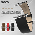 ORIGINAL HOCO Art Series Classic Real Leather Watchband  for Apple Watch 38 mm 42 mm classic metal buckle premium free shipping
