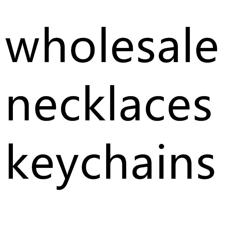 Gros collier porte-clés pendentifs Fans hommes femmes mode cadeau bijoux