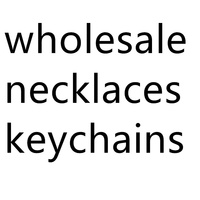 wholesale Necklace keyring Pendants Fans men women fashion gift jewelry