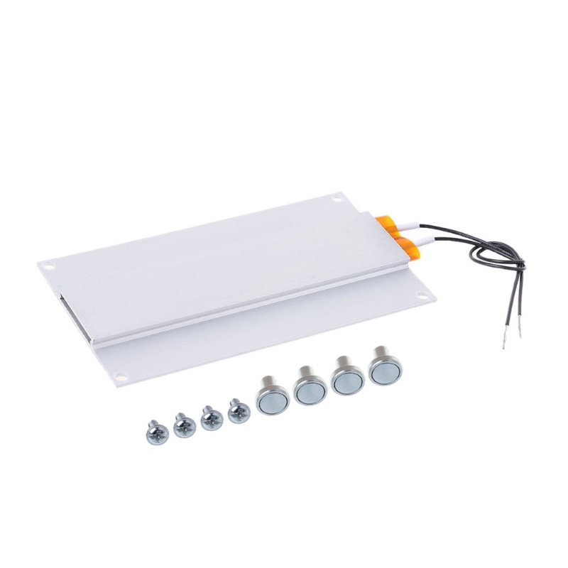 Silver 220V 300W LED Remover Heating Soldering Chip Welding BGA Station PTC Split Board New Aluminum+PTC