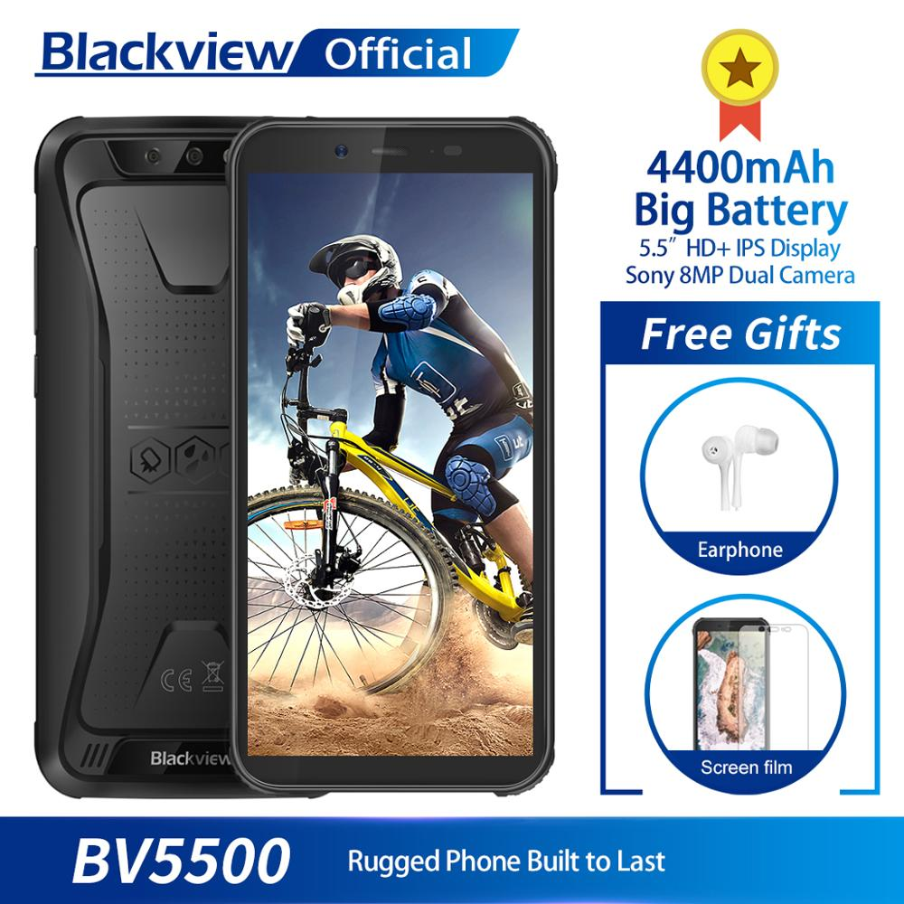 Blackview BV5500 IP68 Waterproof Mobile Phone MTK6580P 2GB+16GB 5.5