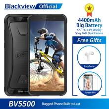 "Blackview BV5500 IP68 Waterproof Mobile Phone MTK6580P 2GB+16GB 5.5"" 18:9 Screen 4400mAh Android 8.1 Dual SIM Rugged Smartphone(China)"