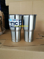 NEW 2017 Bilayer Stainless Steel Insulation Cup 20OZ RTIC Cups Cars Beer Mug Large Capacity Mug