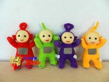 Movie TV Teletubbies Children Toys Stuffed plush about 20CM plush doll one lot 4 pieces birthday