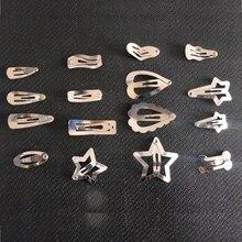 Аксессуары для домашних животных мини-звезда BB заколка для собак dogLight доска DIY голый зажим для домашних животных любовь кости пятиконечная звезда BB зажим 100 шт./лот