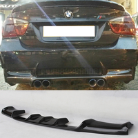 E90 M3 Vorsteiner Style Carbon Fiber Rear Bumper Lip Diffuser for BMW E90 M3 Bumper 2005 2008 Car Styling