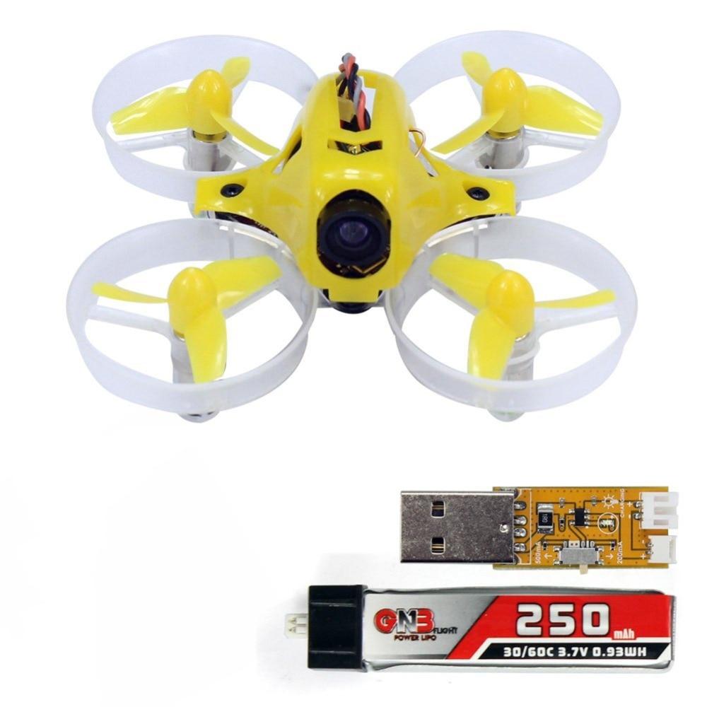 Yellow Tiny6 PNP No TX Mini Pocket RC KingKong Quadcopter 800TVL Camera No Receiver FPV Racing
