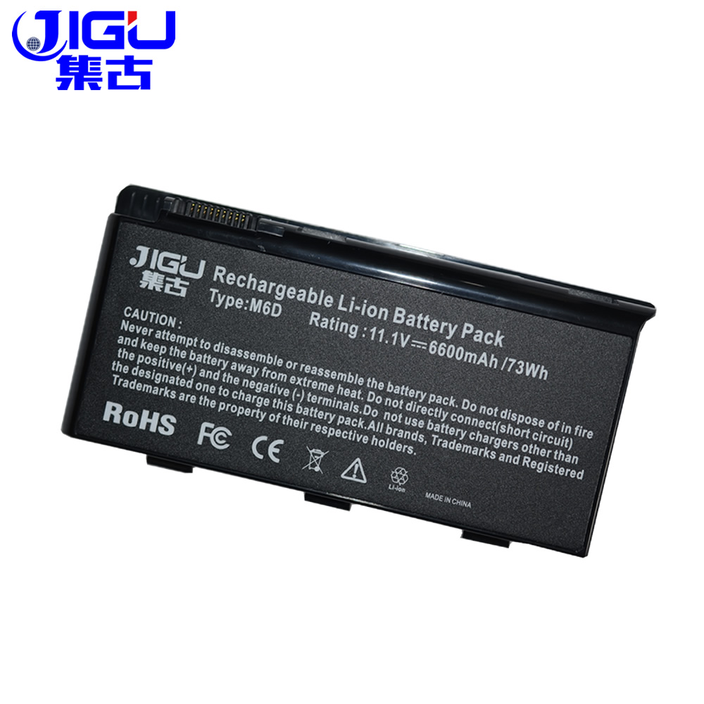 JIGU 9 Cells Laptop Battery For MSI BTY-M6D GX780R GX780 GX660R GX660D GT780DXR GT780 GT70 GT683R GT683 GX780DX GX660DX Series цена