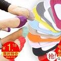 13 color Cálido cómodo algodón de la muchacha de las mujeres calcetines bajos del tobillo invisibles femeninos de color chica chico calcetería 1 par = 2 unids WS41