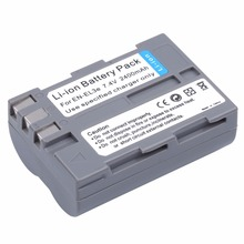 1Pcs Probty EN-EL3e EN EL3e ENEL3e Battery For Nikon D30 D50 D70 D70S D90 D80 D100 D200 D300 D300S D700 Digital Camera