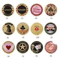 1 pc Metal Banker prensa tarjeta fichas de póker Texas Hold'em recuerdo monedas conmemorativas