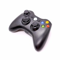 Premium Quality Fine Black 2.4GHz Wireless Gamepad Joypad Controller Game Joystick Pad for Xbox 360 Game