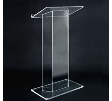 Acrylic Desktop Lectern Acrylic Lectern Stand / Acrylic Church Lectern Perspex Plexiglass Pulpit