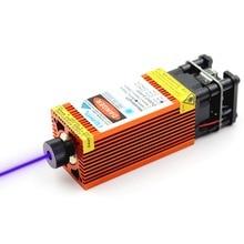 Oxlasers Mới 12V 2.5W 3.5W 4W 5.5W 15W 450nm Laser Màu Xanh Module Với Màu Cam màu Sắc Cho DIY Khắc Laser Đầu PWM