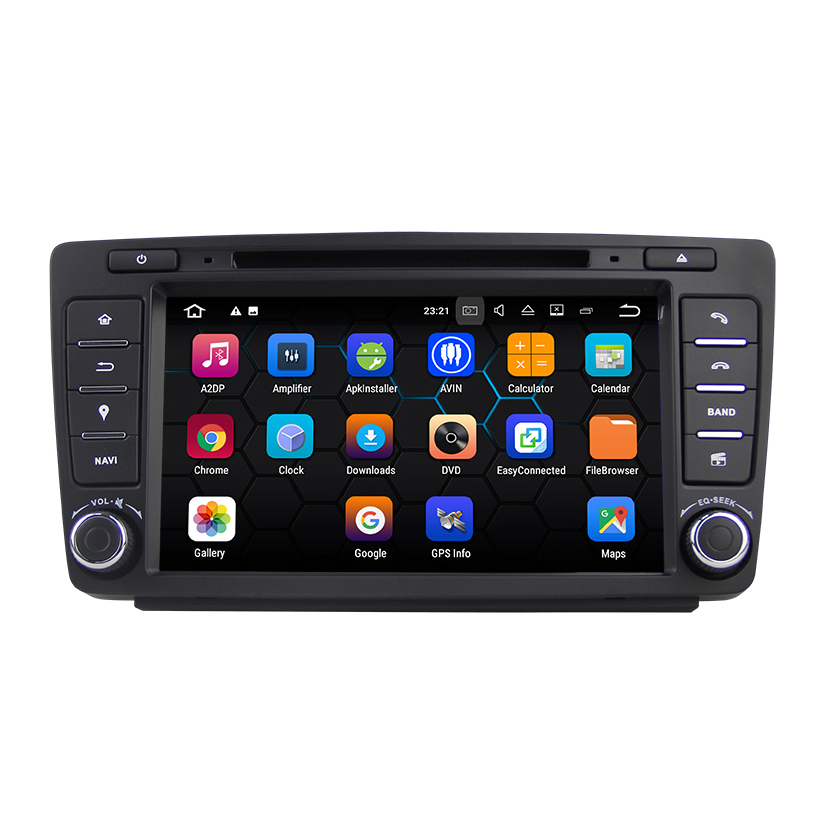 Android 7.1.2 система dvd плеер автомобиля для Skoda Octavia 2009 2012 с gps навигация автомобиль Multi Media Player