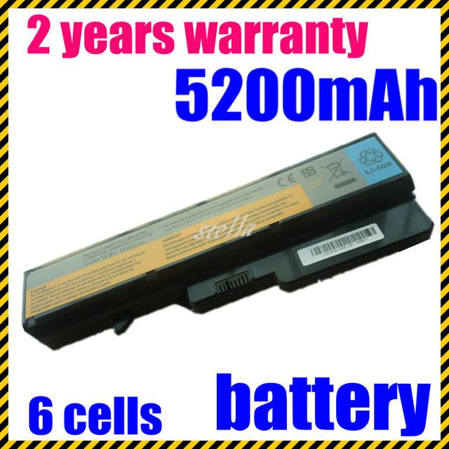 Jigu 57y6454 57y6455 l09c6y02 l09m6y02 l09s6y02 l10c6y02 bateria do portátil de 6 células para lenovo ideapad g460 g560 v360 v370 v470 z460