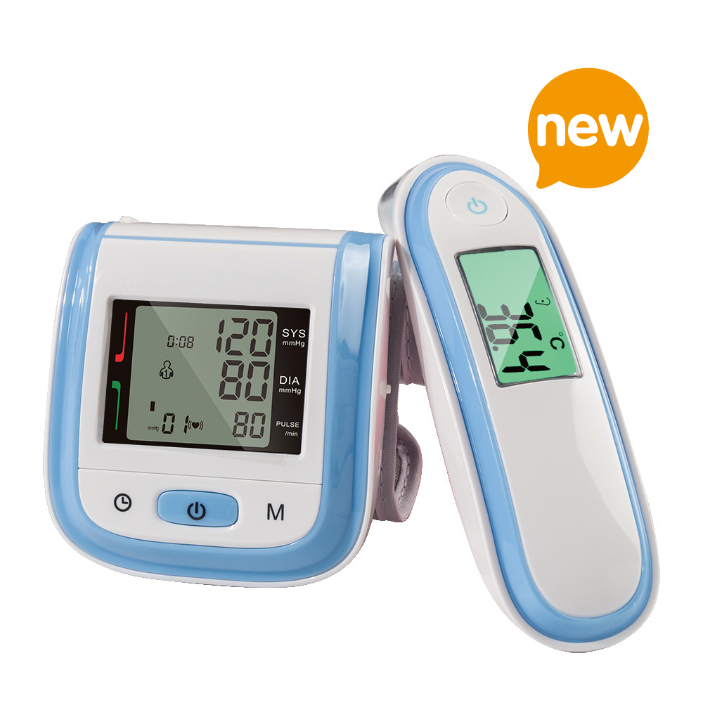 Yongrow Wrist Blood Pressure Monitor & Body Infrared Thermometer Digital With Health Care (Multi-Colors) homeleader 7 in 1 multi use pressure cooker stainless instant pressure led pot digital electric multicooker slow rice soup fogao