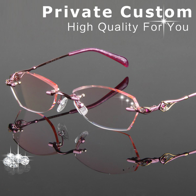 53ce461263 Excellent Quality Diamond cutting glasses women Reading Glasses fashion  style clear lens Anti-fatigue Presbyopic
