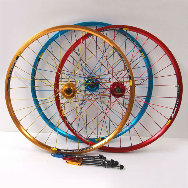 Mountain Bike Wheel Cassette Disc Brake Flower Drum Spokes Wheel