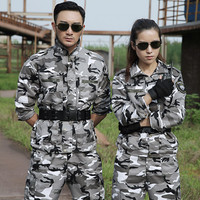 Outdoor Snow Camouflage Hunting Clothes For Women Men Military Clothing Tactical Multicam Camo Uniform Ghillie Suit Ropa Caza