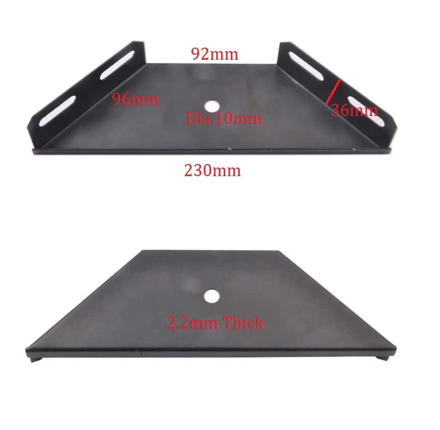 4Pcs/Lot Premintehdw BED RAIL CORNER ANTENNA MOUNT BRACKET BED RAIL CONNECTING BRACKET